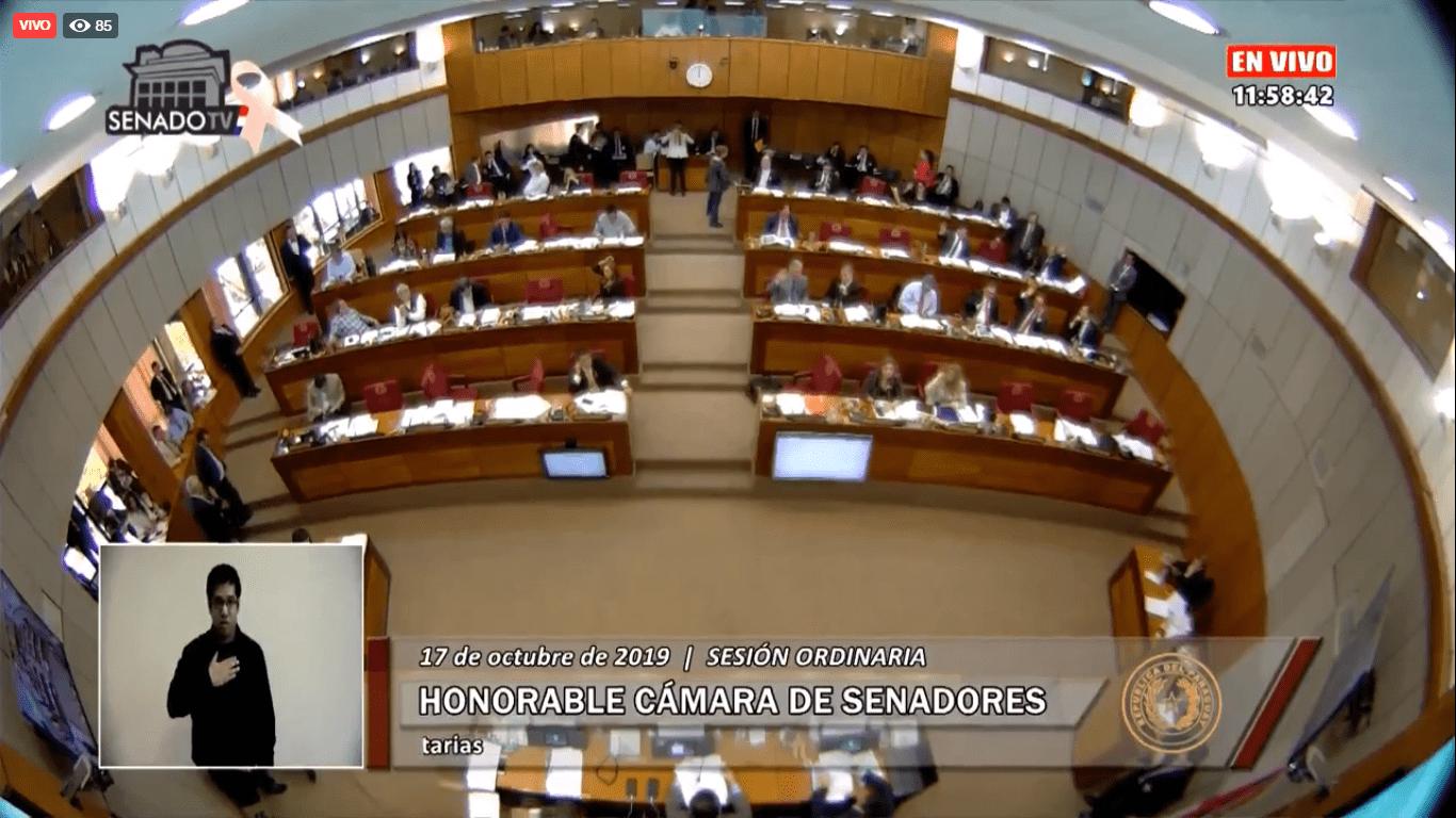 Senado aprobó modificaciones presupuestarias para la UNA