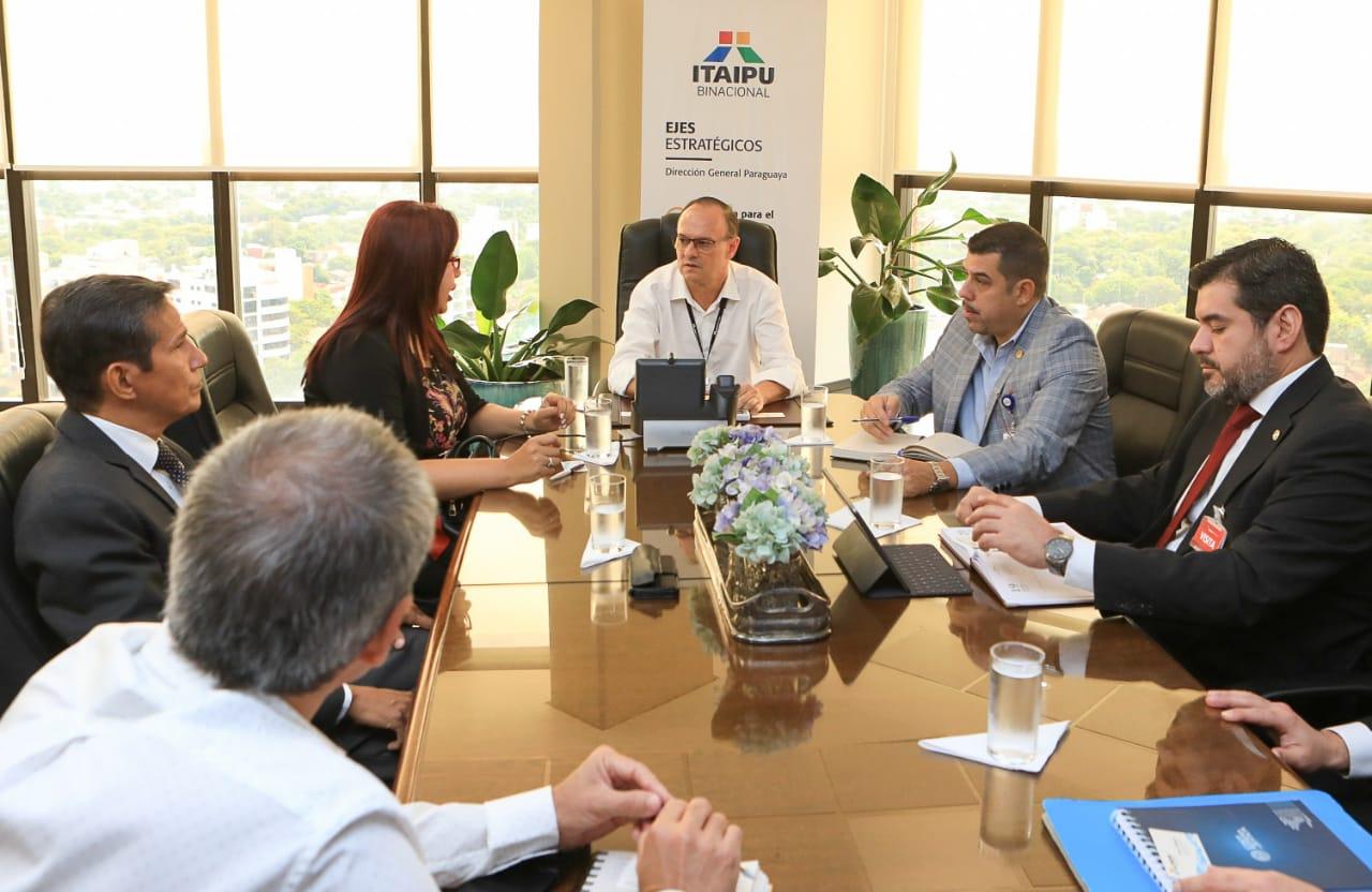 UNA e Itaipu conformarán mesas técnicas